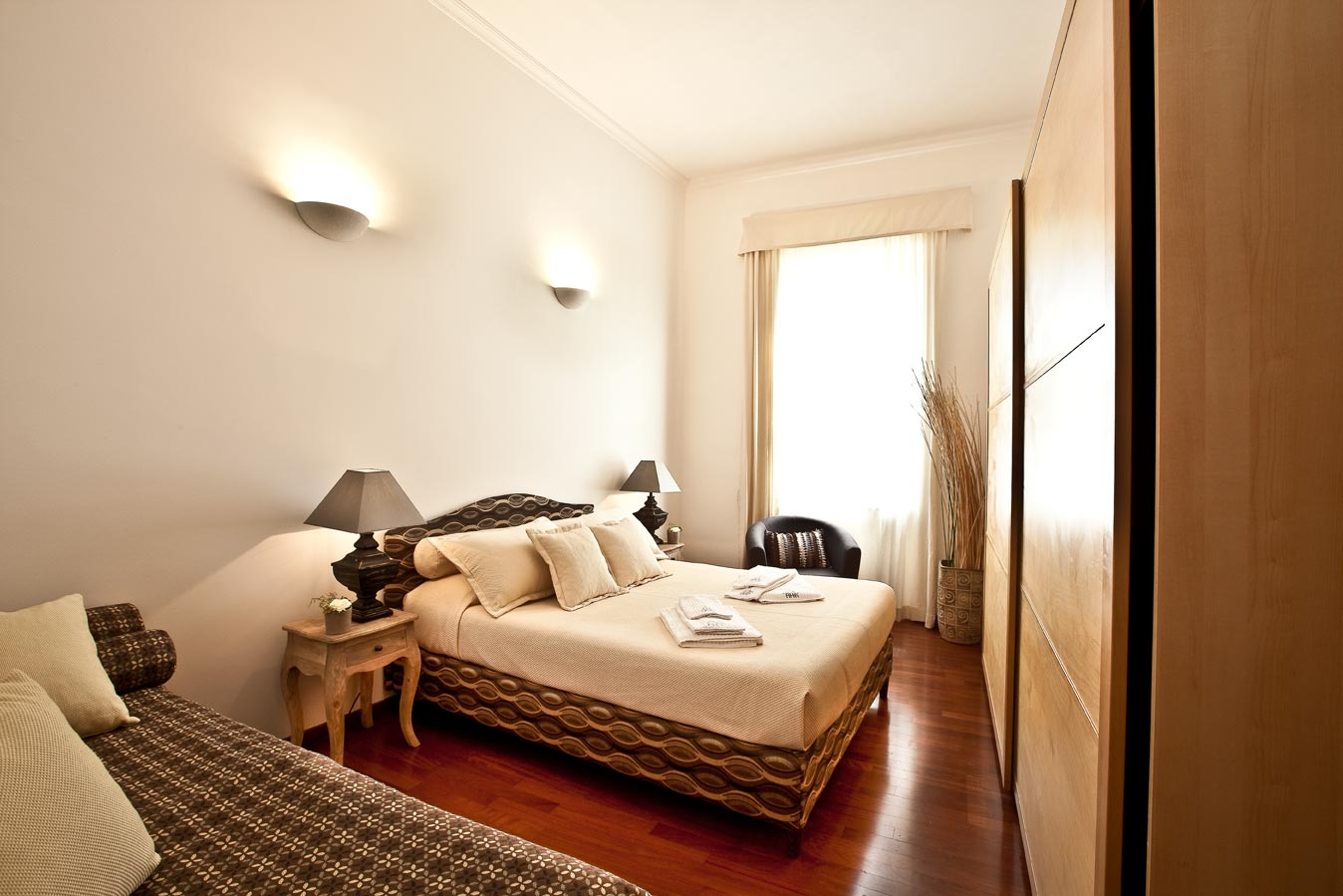 Apartment holiday in rome for Cuarto de 10 metros cuadrados